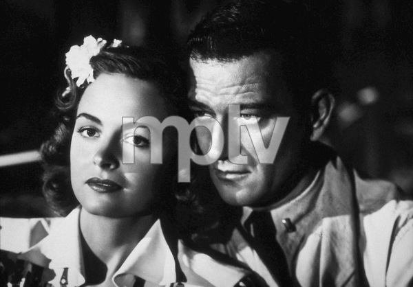 """They Were Expendable,"" MGM 1945.Donna Reed and John Wayne. - Image 9977_0001"