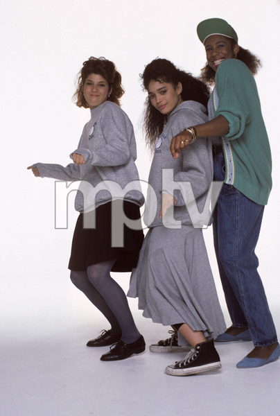 """A Different World""Marisa Tomei, Dawnn Lewis, Lisa Bonet1987© 1987 Mario Casilli - Image 9987_0006"