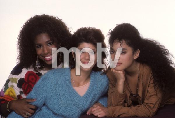 """A Different World""Marisa Tomei, Dawnn Lewis, Lisa Bonet1987© 1987 Mario Casilli - Image 9987_0012"