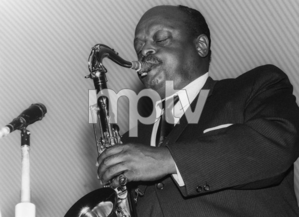 Ben Webster, Birmingham Jazz Festivalcirca mid 1960sPhoto by Brian Foskett © National Jazz Archive - Image FOS_00971